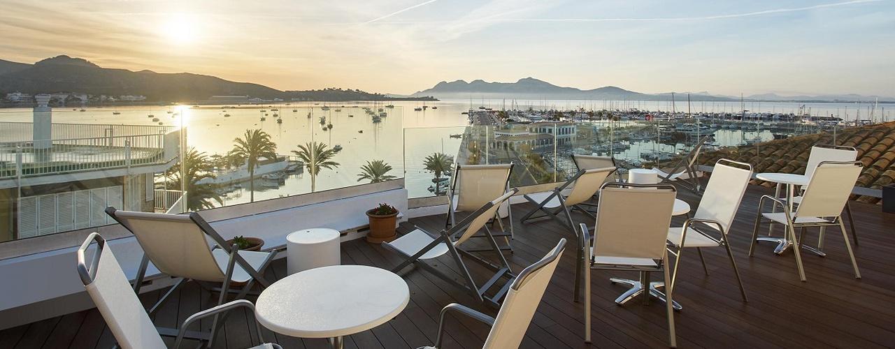 Sonnenterrasse Hotel Eolo