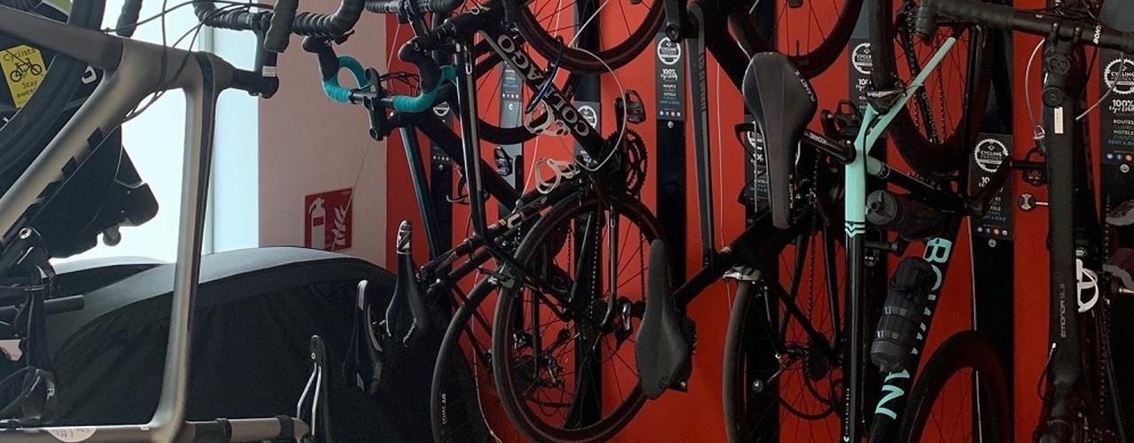 Fahrradraum Hotel Eolo