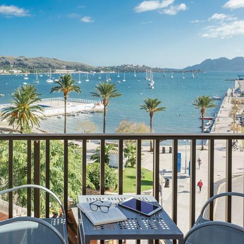 Doppelzimmer mit Balkon und Meer Hotel Eolo